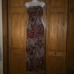 Chiffon Xhilaration Large Maxi dress